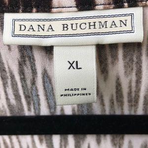 Dana Buchman Tops - Dana Bachman Sleeveless Jungle Print.